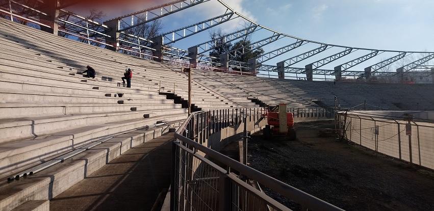(Video) A toda máquina avanzan las obras de ampliación del Estadio Fiscal