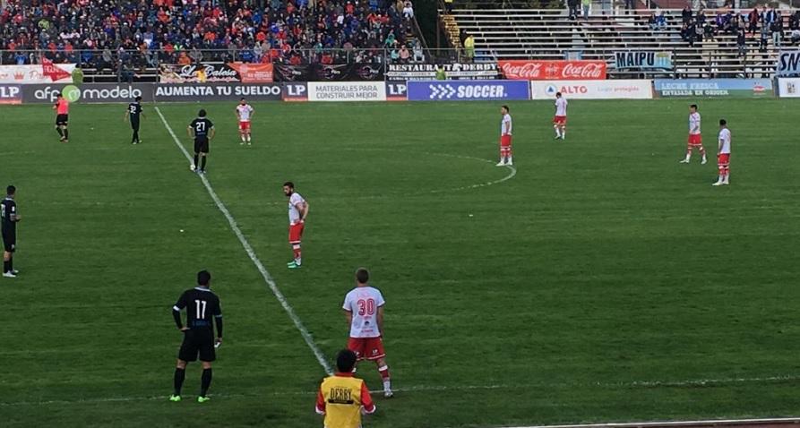 La delicada situación que obligó al árbitro del partido entre Valdivia y Magallanes a abandonar el encuentro en el entretiempo