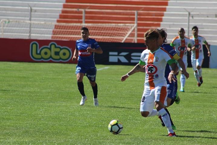 Con gol de su arquero, Cobresal evitó una derrota en casa ante Melipilla