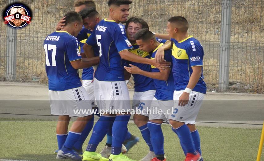 Barnechea festejó ante San Felipe en el arranque del campeonato 2019