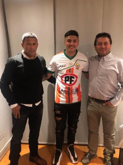 Ratificado el nuevo club de Juan Carlos Gaete