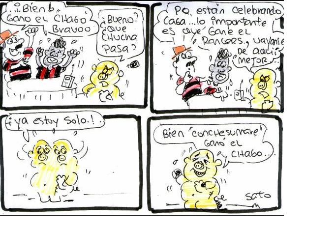 (Humor) El gol más celebrado en Talca esta temporada fue de Santiago Morning