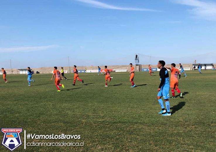San Marcos tuvo un exitoso apronte ante Deportes Iquique