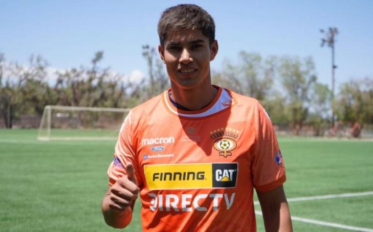 Eric Ahumada jugará en primera división