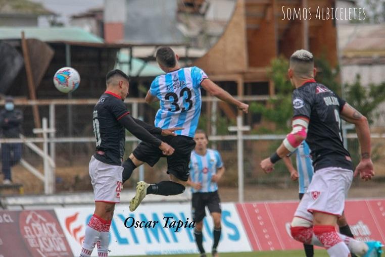 En partido marcado por los yerros arbitrales, Magallanes y Copiapó igualaron en San Bernardo