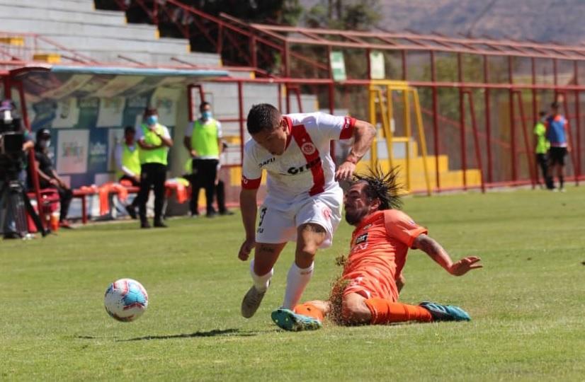 Unión San Felipe y Cobreloa repartieron puntos en el Valle del Aconcagua