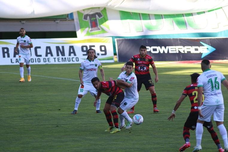 Rangers se levanta y derrota a domicilio a Deportes Temuco aunque la diferencia es mínima