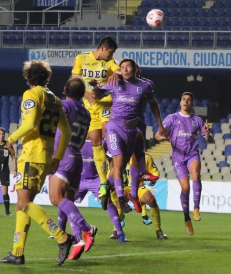 Deportes Concepción fue verdugo de otro elenco de la Primera B en Copa Chile